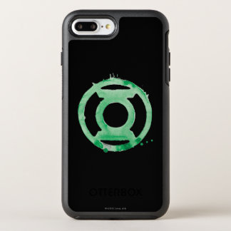 Coffee Lantern Symbol - Green OtterBox Symmetry iPhone 7 Plus Case