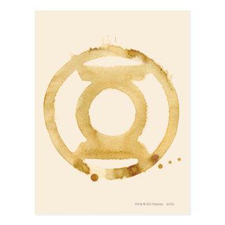 Coffee Lantern Symbol Postcard