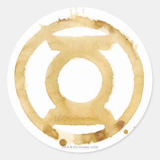 Coffee Lantern Symbol Stickers