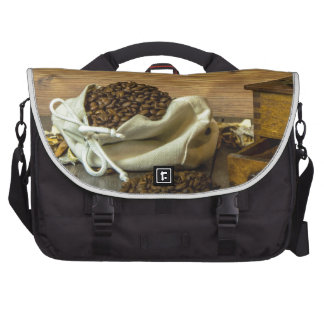 Coffee Laptop Commuter Bag