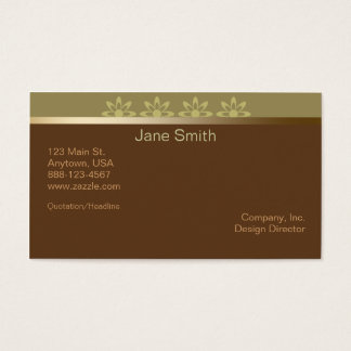 Coffee Latte Business Cards