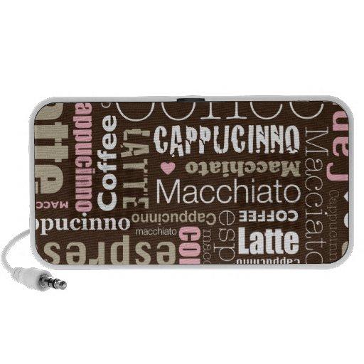 Coffee Latte Mini Speaker