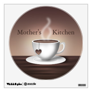 Coffee Latte Wall Decal