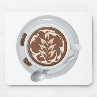 Coffee Leaf Mouse Pad