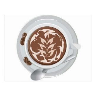 Coffee Leaf Postcard