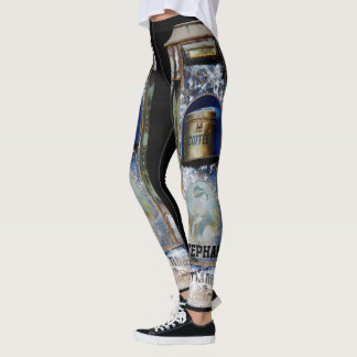 COFFEE Leggings with Personalized Name