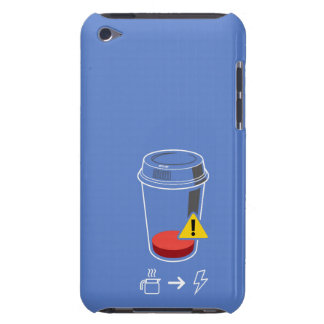 Coffee level low barely there iPod cover