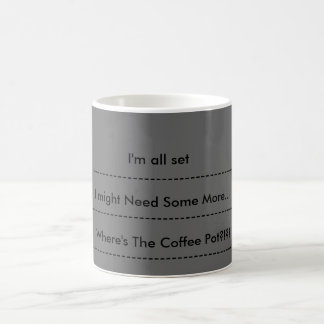 Coffee Levels Coffee Mug