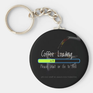 Coffee Loading... Keychain
