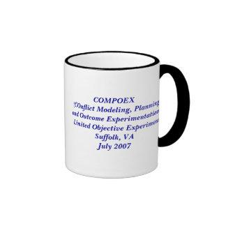Coffee logo, COMPOEX  (COnflict Modeling, Plann... Coffee Mug