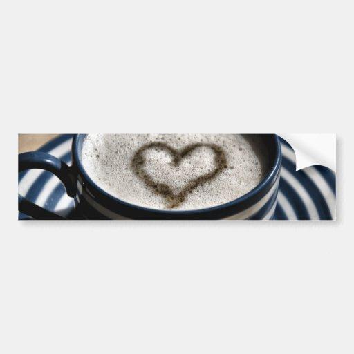 Coffee Love Bumper Stickers