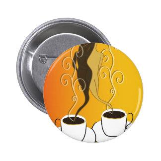 Coffee Love Pinback Button