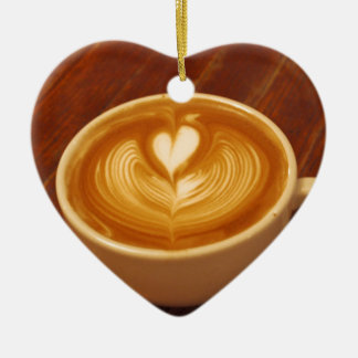 Coffee Love Ceramic Ornament