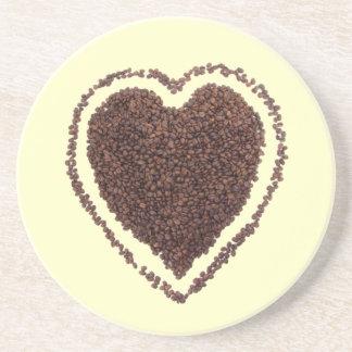 coffee love drink coaster