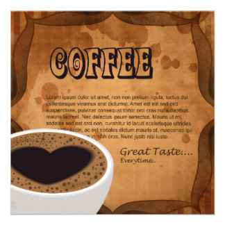 Coffee Love Personalized Invitation
