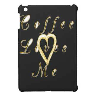 Coffee love me. iPad mini cases