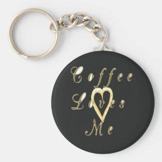 Coffee love me. key chain