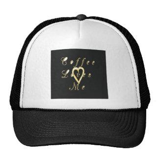 Coffee love me. trucker hat