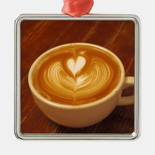 Coffee Love Metal Ornament