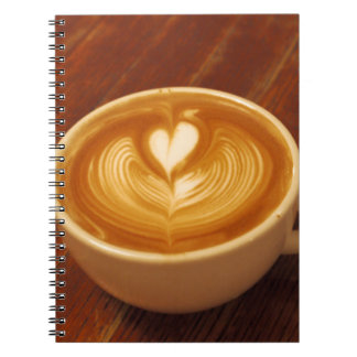 Coffee Love Spiral Note Book