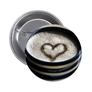 Coffee Love Pinback Buttons