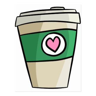 Coffee Love Postcard
