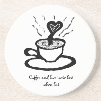 Coffee Love Quote_African Proverbs Drink Coasters