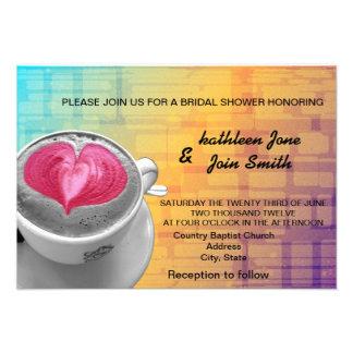 Coffee Love RSVP Invitation