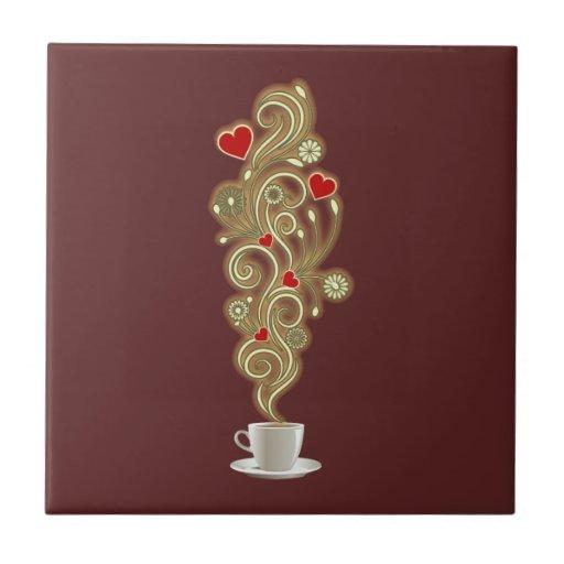 Coffee Love Ceramic Tiles