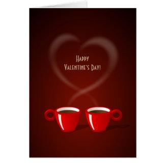Coffee Love Valentine's Day card
