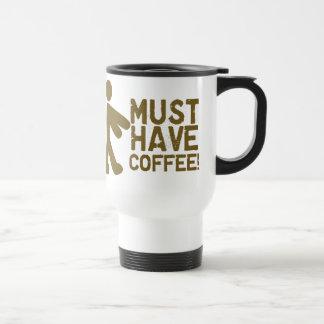 Coffee Lover 15 Oz Stainless Steel Travel Mug