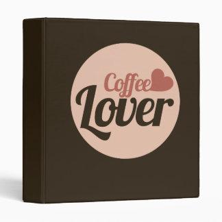 Coffee Lover 3 Ring Binder