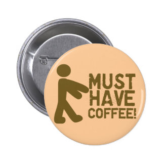 Coffee Lover Button