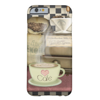 Coffee Lover Café Barely There iPhone 6 Case
