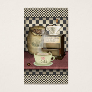 Coffee Lover Café Business Card