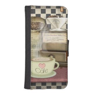 Coffee Lover Café Phone Wallet Cases