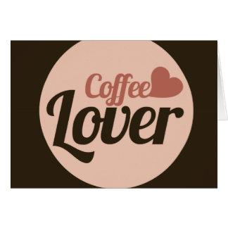 Coffee Lover Card