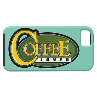 Coffee Lover iPhone 5 Cover