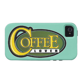 Coffee Lover iPhone 4 Case
