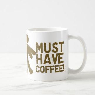 Coffee Lover Classic White Coffee Mug