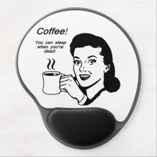 Coffee Lover Funny Gel Mousepad