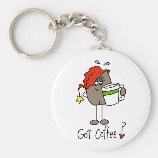 Coffee Lover Gift Key Chains
