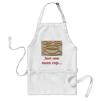 Coffee Lover Gift Present Customize Name Quote Adult Apron