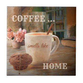 Coffee Lover Home Design Kitchen Tile