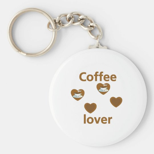 Coffee Lover Keychain
