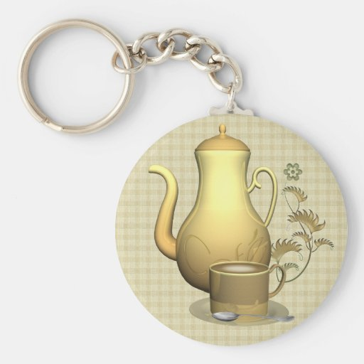 Coffee Lover Keyring Keychains