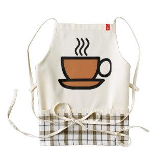 Coffee Lover Kitchen Apron, Zazzle Heart Zazzle HEART Apron