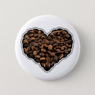 Coffee Lover Pinback Button