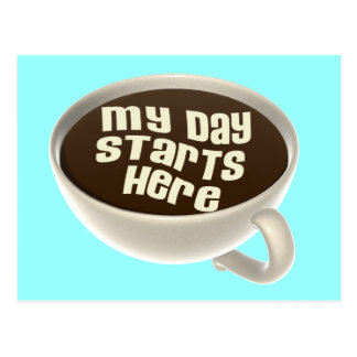 Coffee Lover Postcard