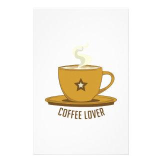 Coffee Lover Custom Stationery